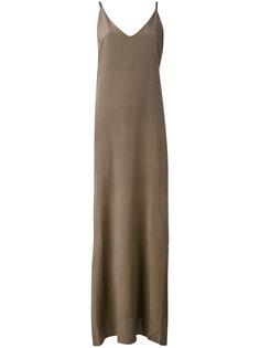 long spaghetti-strap dress  Isabel Benenato