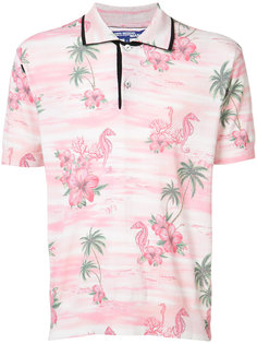 tropical print polo shirt  Junya Watanabe Comme Des Garçons