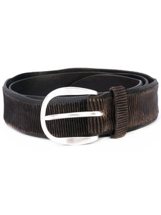 textured belt Orciani
