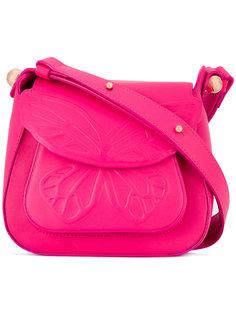 butterfly embossed shoulder bag Sophia Webster