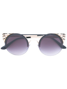 rounded sunglasses Bulgari