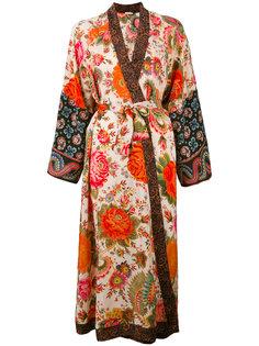 printed silk kimono Anjuna