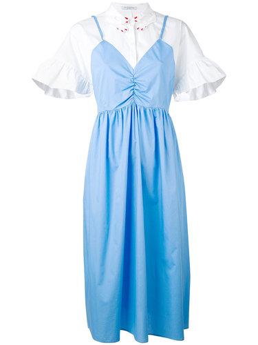 layered-effect shirt dress Vivetta