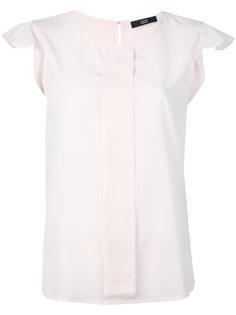 pleated sleeves blouse Steffen Schraut