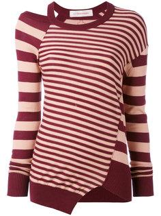 striped cut out top A.F.Vandevorst
