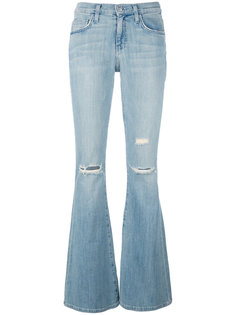 busted bell-bottomed jeans Current/Elliott