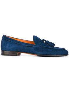 tassel loafers Santoni