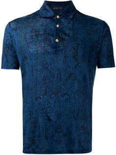 рубашка-поло с узором Etro