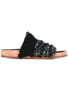 сандалии с бахромой Chloé