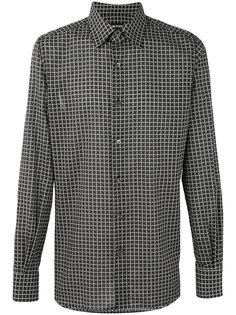 клетчатая рубашка Tom Ford
