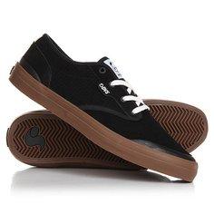 Кеды кроссовки низкие DVS Cedar Black Suede