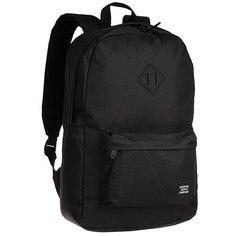 Рюкзак городской Herschel Heritage Black/Black Rubber1