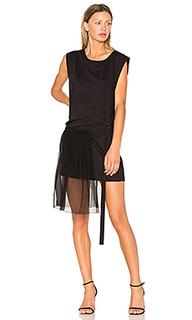 Side pleat dress - No. 21