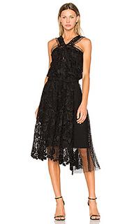 Кружевное миди-платье - No. 21