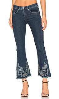 Укороченные расклёшенные джинсы - rag & bone/JEAN