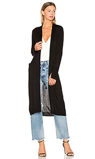 Open front duster cardigan - Halston Heritage