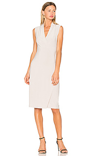 Sleeveless side drape dress - Norma Kamali