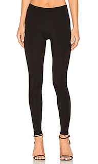 Slim fit ribbed leggings - Halston Heritage