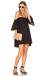 Платье в сеточку - BLAQUE LABEL