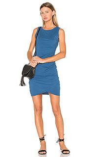 Облегающее платье из джерси с рюшами supreme - Bobi