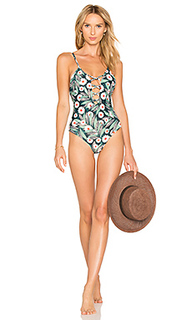 Criss cross front one piece - Mara Hoffman