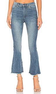 Укороченные джинсы-клеш kick spray - Cheap Monday