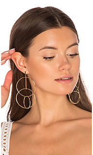 Multi hoop earrings - joolz by Martha Calvo