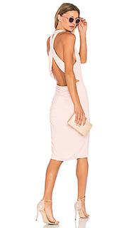 Мини платье с глубоким v-образным вырезом - Bobi