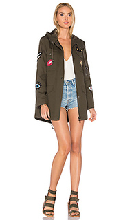 Cargo coat with exclusive patches - jocelyn