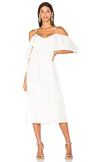 Платье с прорезями на плечах sun - BLAQUE LABEL