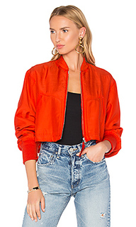 Crop bomber jacket - T by Alexander Wang