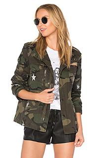 Field jacket with stars - jocelyn