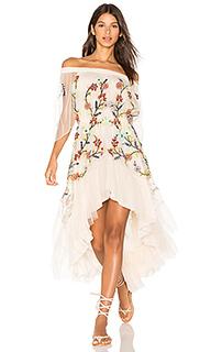 Платье с открытыми плечами - ROCOCO SAND