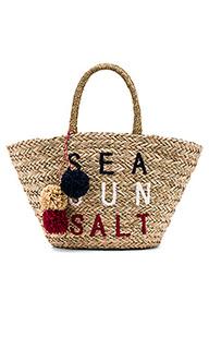 Соломенная сумка-тоут sea sun salt - SUNDRY