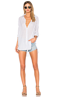 Gauze striped oversized shirt - SUNDRY