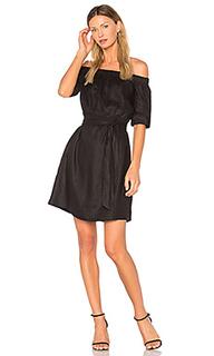 Платье с открытыми плечами - FRAME Denim