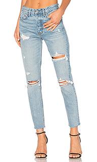 Узкие джинсы высокой посадки karolina - GRLFRND