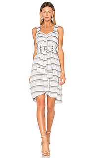 Tie front stripe dress - DEREK LAM 10 CROSBY