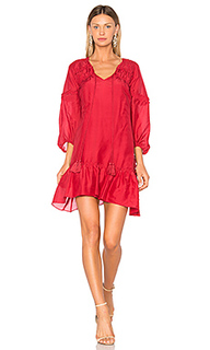Bell sleeve ruffle solid dress - DEREK LAM 10 CROSBY