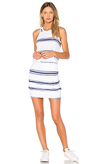 Navy stripes tank dress - SUNDRY