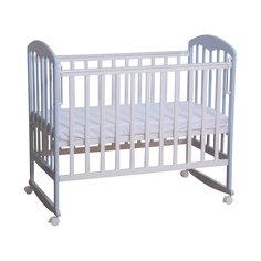 Кровать 323, Фея, белый-лазурь