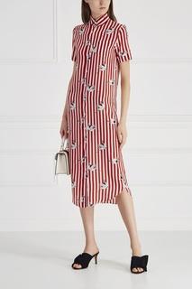 Шелковое платье-рубашка Spassosa Stella Jean