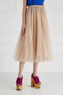 Однотонная юбка Rochas
