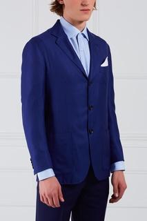 Пиджак из кашемира и шелка Kiton