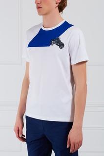 Хлопковая футболка Salvatore Ferragamo