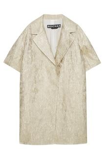 Пальто из жаккарда Rochas
