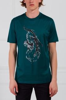 Хлопковая футболка Lanvin