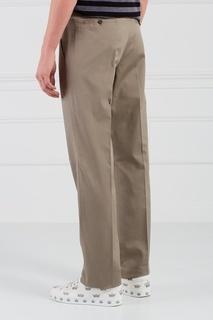 Хлопковые брюки Lanvin