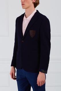 Кожаный пиджак Billionaire