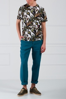 Льняные брюки Brioni